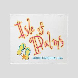 Isle of Palms - Throw Blanket