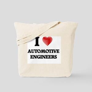 I love Automotive Engineers Tote Bag