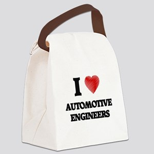 I love Automotive Engineers Canvas Lunch Bag