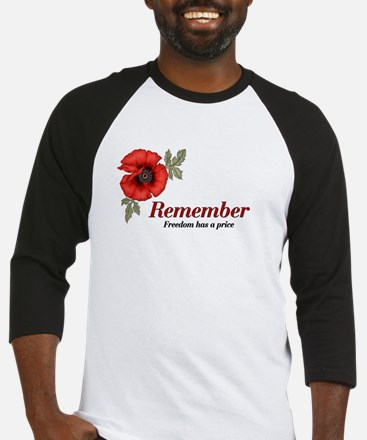 Remember Poppy Baseball Jersey
