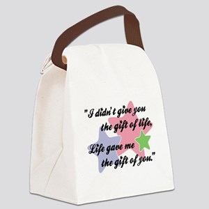 I DIDN'T GIVE YOU... Canvas Lunch Bag