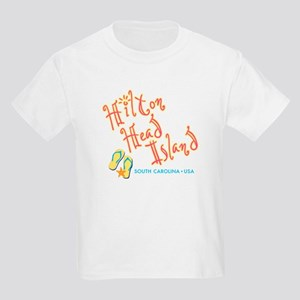 Hilton Head Island - Kids Light T-Shirt