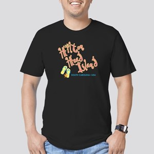 Hilton Head Island - Men's Fitted T-Shirt (dark)
