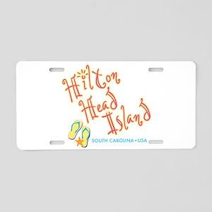 Hilton Head Island - Aluminum License Plate