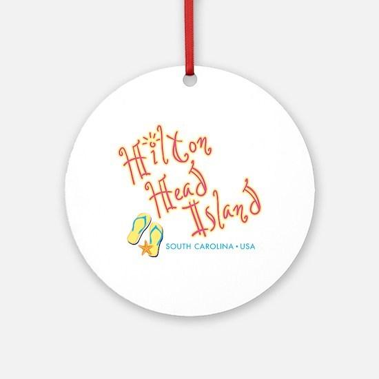 Hilton Head Island - Round Ornament