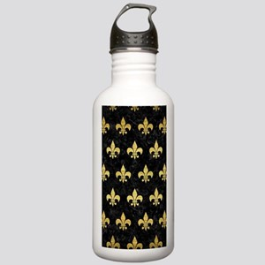 ROYAL1 BLACK MARBLE & Stainless Water Bottle 1.0L