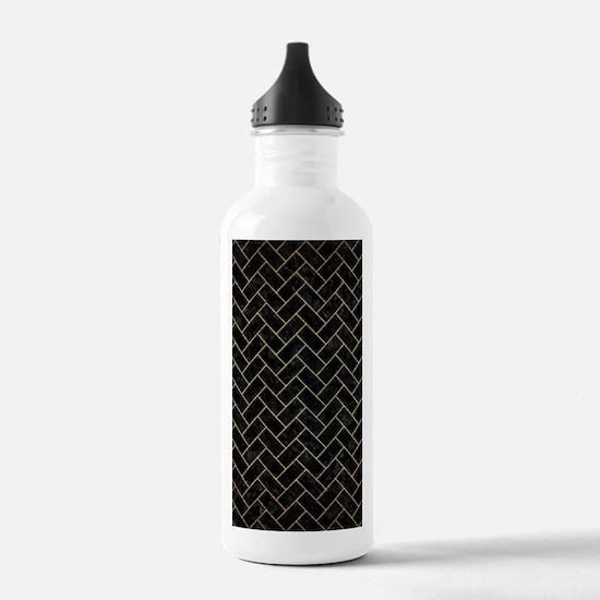 BRICK2 BLACK MARBLE & Water Bottle
