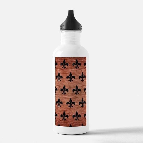 ROYAL1 BLACK MARBLE & Water Bottle