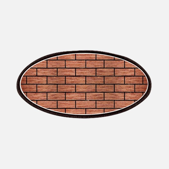 BRICK1 BLACK MARBLE & COPPER BRUSHED METAL ( Patch