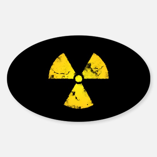 Eroded Radiation Symbol Decal
