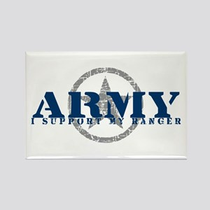 Army - I Support My Ranger Rectangle Magnet