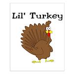 Lil' Turkey Small Poster