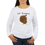 Lil' Turkey Women's Long Sleeve T-Shirt