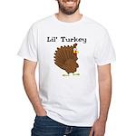 Lil' Turkey White T-Shirt
