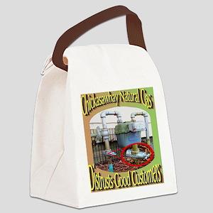 Chckasawhay Natural Gas Distrusts Canvas Lunch Bag