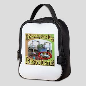 Chckasawhay Natural Gas Distrus Neoprene Lunch Bag