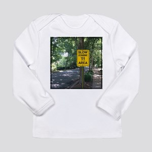 Slow Zombie Area Long Sleeve T-Shirt