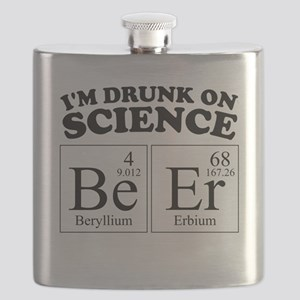 Drunk On Science BeEr Flask