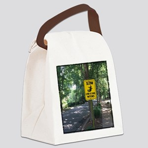 SLOW Low Flying Witches Canvas Lunch Bag