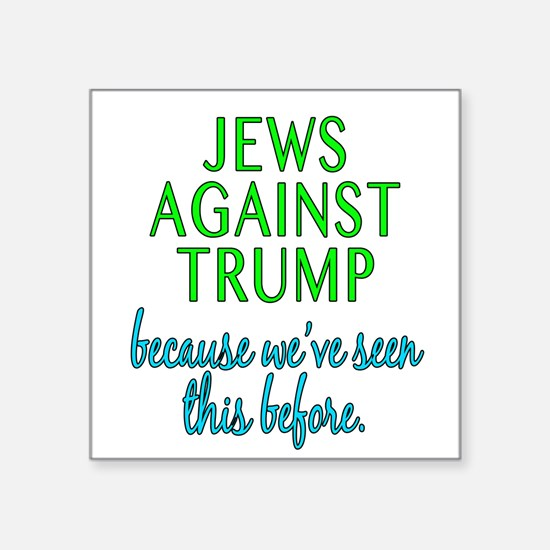 Jews Against Trump Sticker