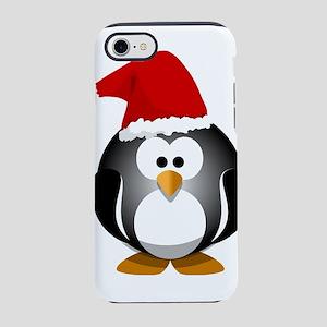 Santa Hat Penguin iPhone 8/7 Tough Case
