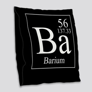 Barium Burlap Throw Pillow