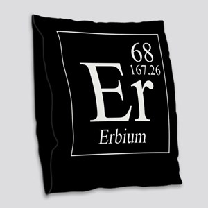 Erbium Burlap Throw Pillow