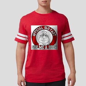 Official Old Fart - Beer Ash Grey T-Shirt