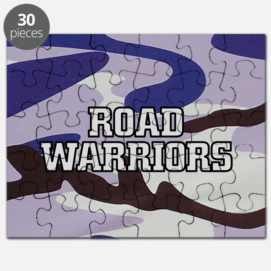 Road Warriors on Purple Camo Puzzle