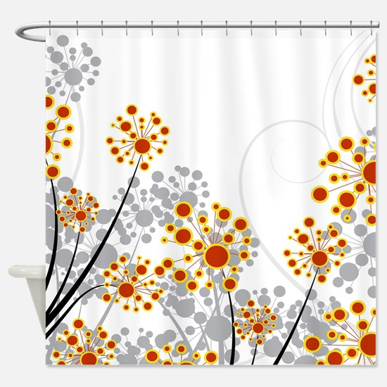 Dandelions in the Wind Shower Curtain