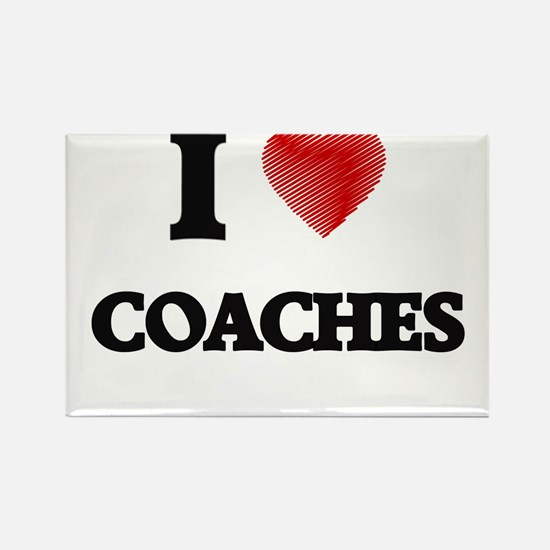 I love Coaches Magnets