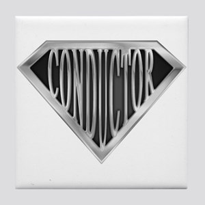 SuperConductor(metal) Tile Coaster