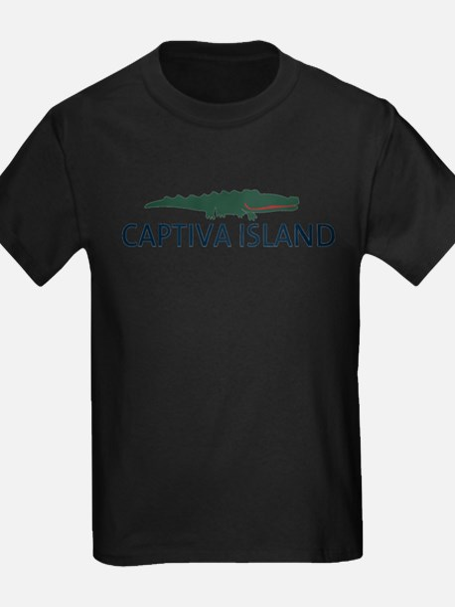 Captiva Island - Alligator Design. T-Shirt
