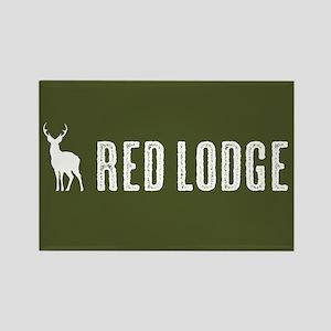 Deer: Red Lodge, Montana Rectangle Magnet