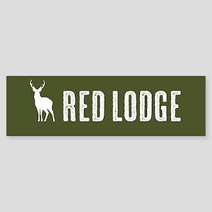 Deer: Red Lodge, Montana Sticker (Bumper)