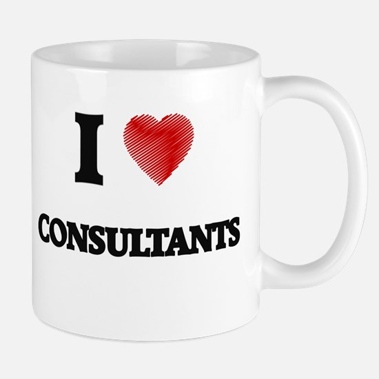 I love Consultants Mugs