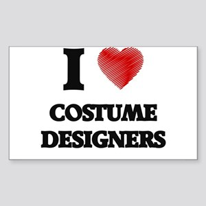 I love Costume Designers Sticker