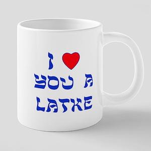 I Love You a Latke Mugs