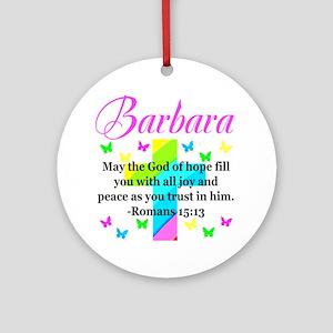 HEBREWS 15:13 Round Ornament