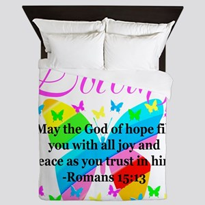 HEBREWS 15:13 Queen Duvet