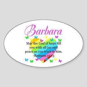 HEBREWS 15:13 Sticker (Oval)
