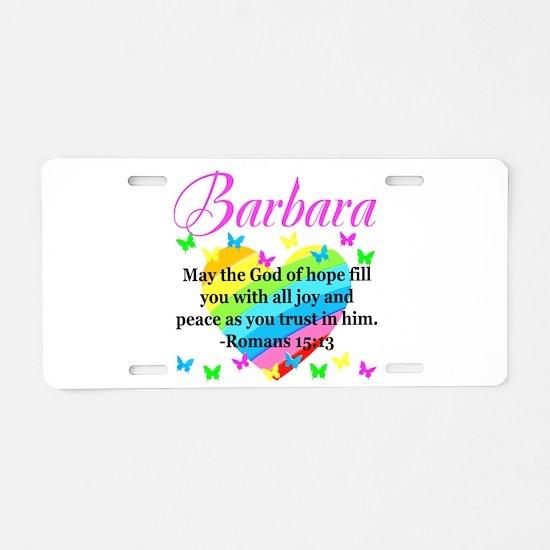 HEBREWS 15:13 Aluminum License Plate