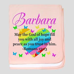 HEBREWS 15:13 baby blanket