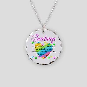 HEBREWS 15:13 Necklace Circle Charm