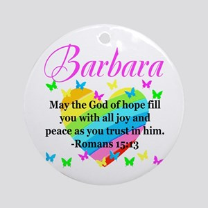 HEBREWS 15:13 Round Ornament