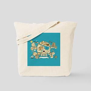 Treasure Map Tote Bag