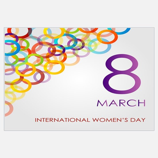 Unique International womens day Wall Art