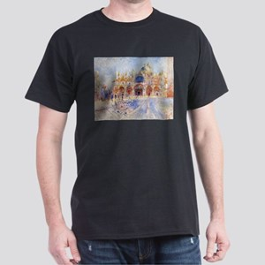 The Piazza San Marco by Pierre Auguste Ren T-Shirt