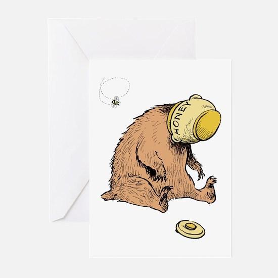 HONEY BEAR * Greeting Cards (Pk of 10)