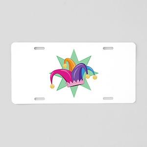 Jester Hat Aluminum License Plate